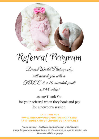 Category: Referral Program - Dreamworld Photography
